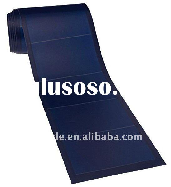 64W Flexible Thin Film Solar Panel peel and stick no roof penetration anti-high temperature high per
