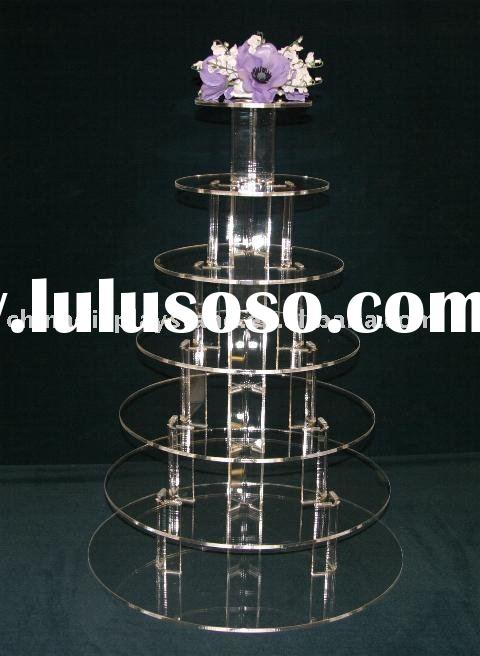 7 Tier Acrylic Cupcake Stand