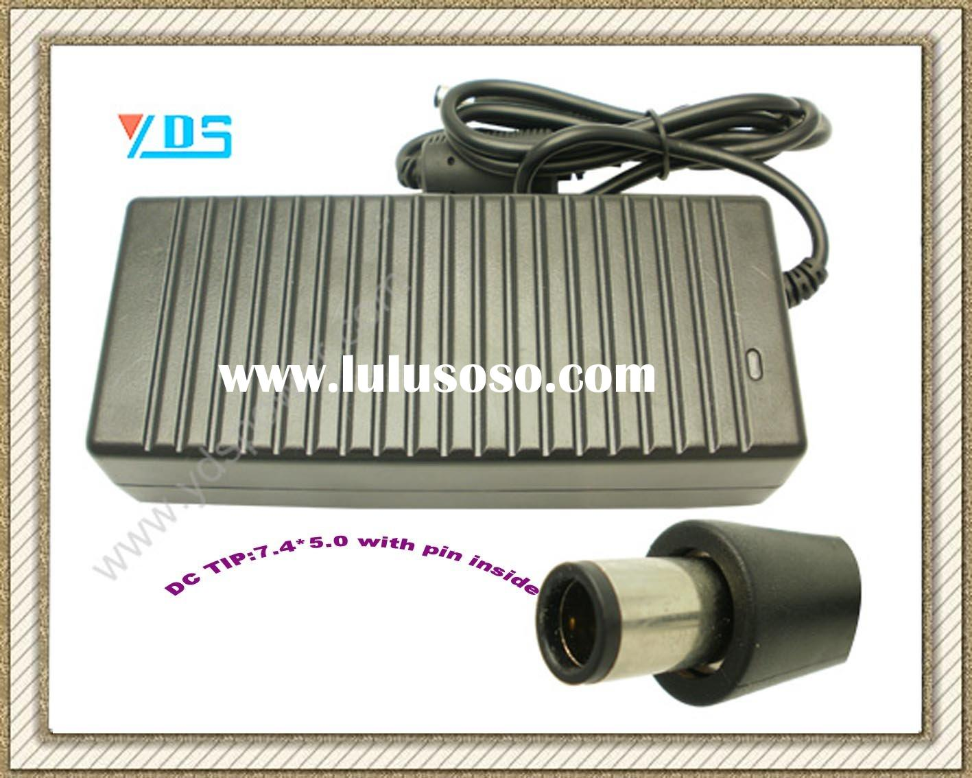 AC/DC Adapter for Dell Laptop 19.5V 6.7A 130W DC Connector 7.4*5.0 with pin