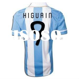 Argentina 2011 Home Infant Soccer Jersey Higuain 9 With Dry-fit Design