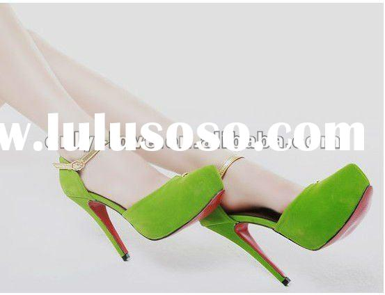 BS264 beautiful high heel ladies party shoes evening shoes