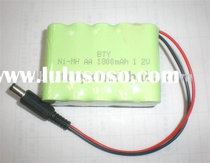 BTY AA*10 Ni-MH 12V Rechargeable battery pack