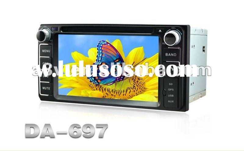 Best price of Toyoto 2 din car dvd player with radio