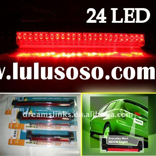 Brand New 24 LED Car / AUTO Rear Third Brake Light Lamp Stop Tail Red 12V