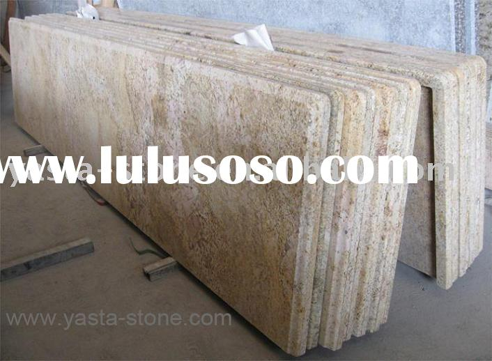 Brazil Golden King Countertops,Kitchen Counter Top,Granite Countertop,Bathroom Vanity Tops From Chin
