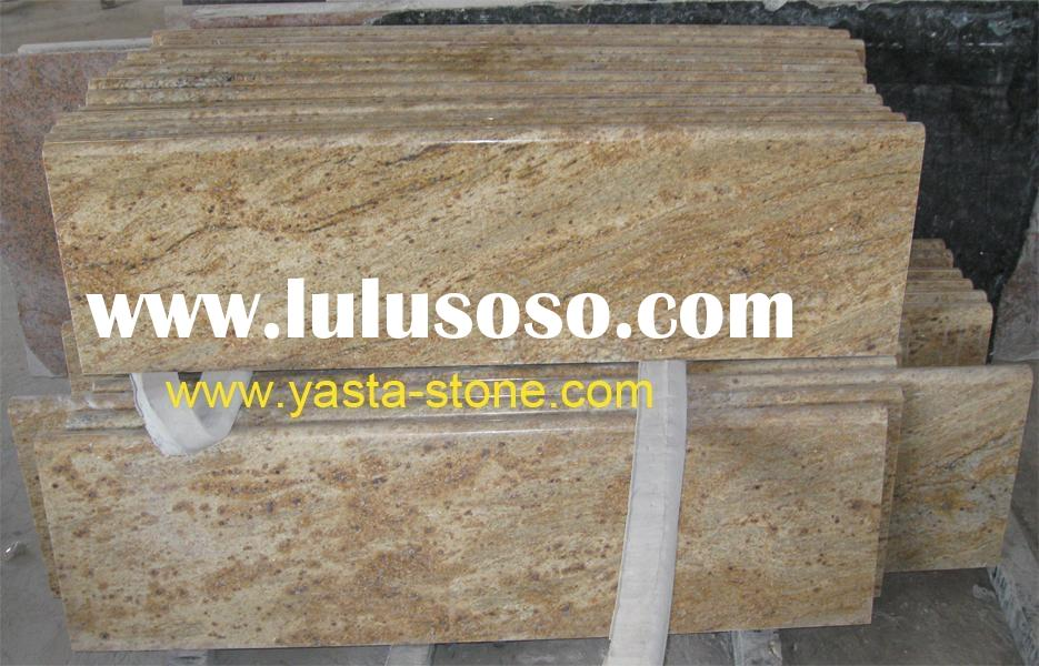 Brazil Yellow Granite Madura Gold Countertop Vanity Top Kitchen Worktop
