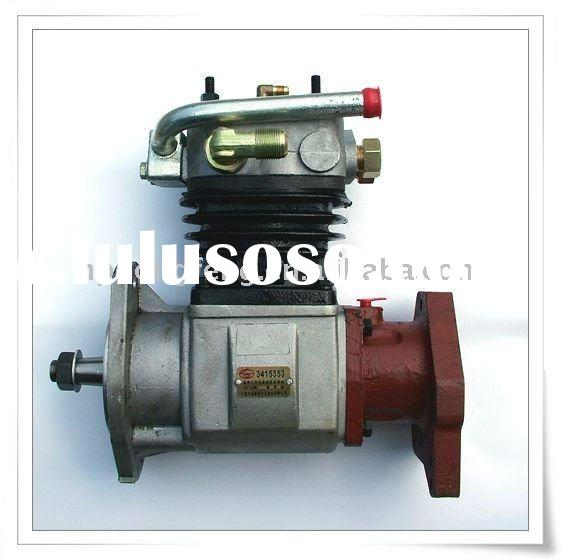 Car used air compressor for Cummins engine spare part C3415353 6CT