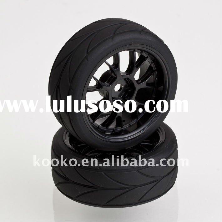 China rc car wheel for 1/10 rc car good price plastic