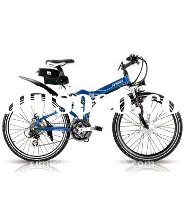 Discovery electric bike with brushless motor