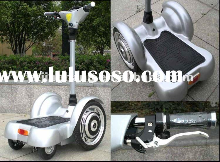 Stand up motor scooters