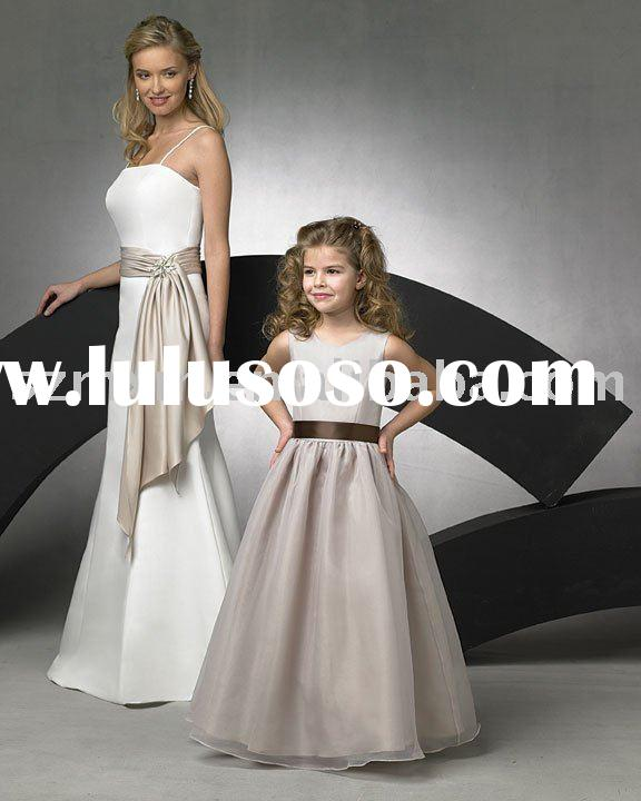 Flower girl dress FG065/party dress/kids dress