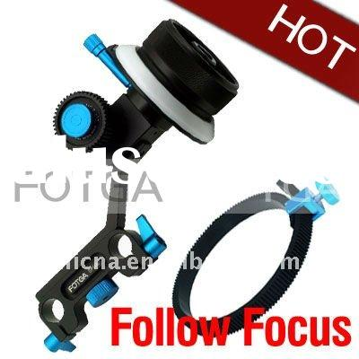 Fotga DP500 DSLR Follow focus FF for 15mm rod support HDSLR HDV for 5D II 7D 600D