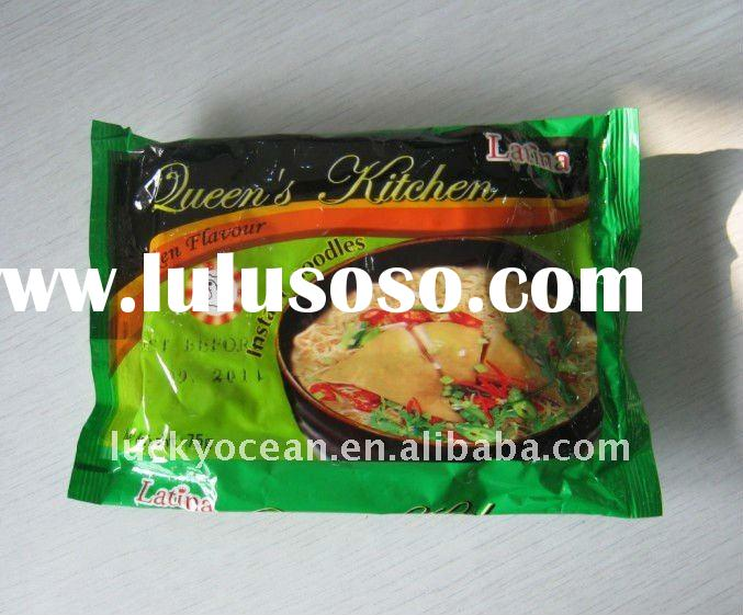 Fried bag instant noodles