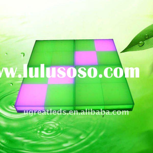 Full Color Inductive LED Dancing Floor/LED Inductive Brick Light