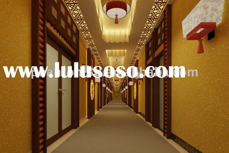 Glass Tile for Corridor Decoration of Hotel (Proprietary technology of 3D)
