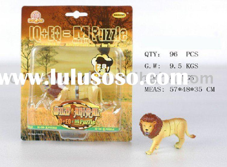 HJ190233 3D PUZZLE animals