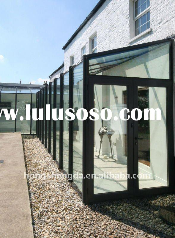 High quality with competitve aluminum frame glass door