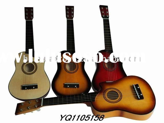 Hot ! Musical Instrument wood craft guitar YQ1105158