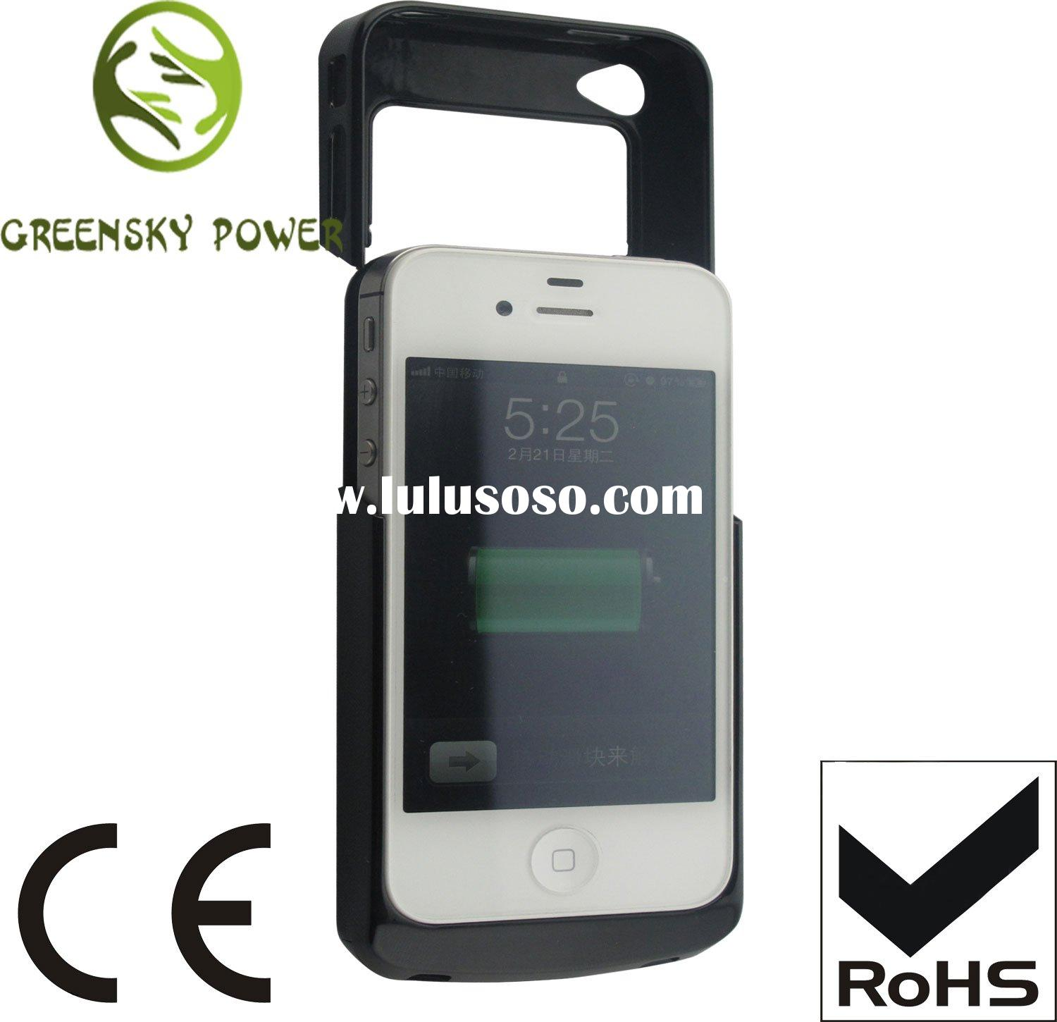 Hot sales portable power bank for mobile phone (iphone4/ 4s) 2200mAh