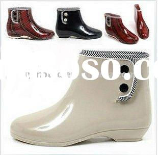 Hot selling! 2011New Style fashion Garden rain boots ,Wellington boots,Lady Gumboots
