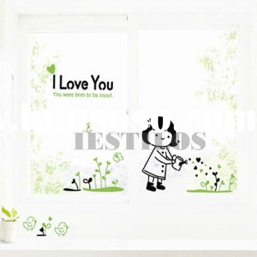 I love you nursery Wall quote deco Stickers decals