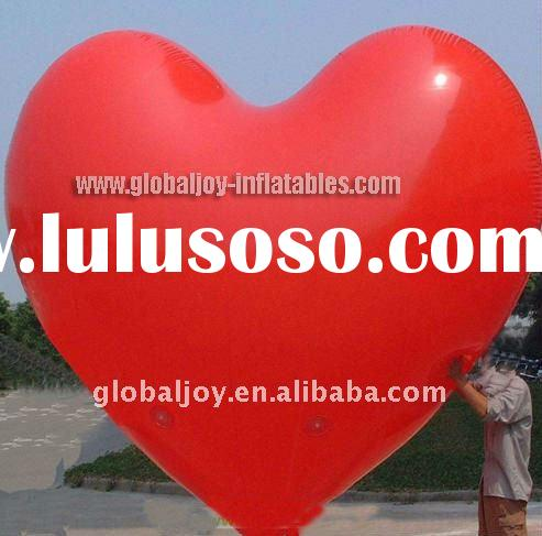 Inflatable heart shape balloon/advertising balloon/hot air balloon