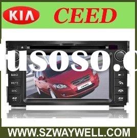 Kia Ceed 2010-2011 HD Car Radio with GPS/ Blue tooth/I-POD control/Radio/Amplifier car radio+Special