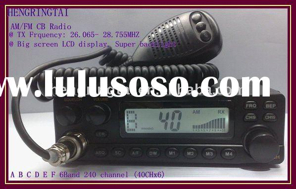 Latest version CB Radio ,LM-302 PLUS mobile radio ,AM/FM brand ,6*40 Channals