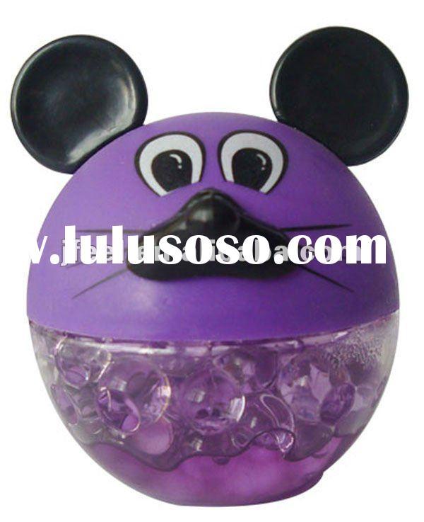 MOUSE Solid Air Freshener,Crystal Gel Diffuser,Scents For Car