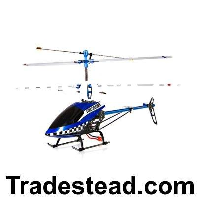 Metal Upgrade Remote Control Helicopter with 4 Channel Brushless Motor - 2.4GHz