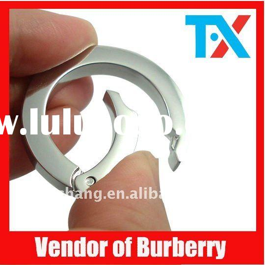 Metal d ring for luggage accessories