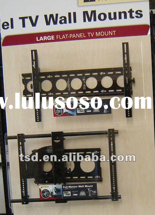 Metal plasma TV wall mount/Fluch TV support/foldable tilt LCD TV wall amount