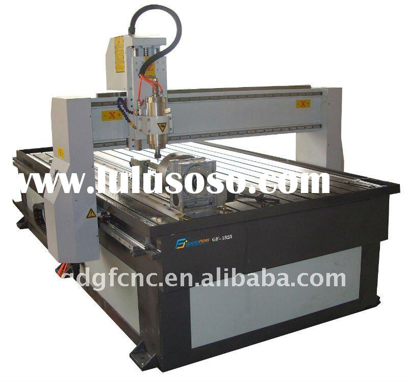 Multi Function wood carving cnc router with rotary axis
