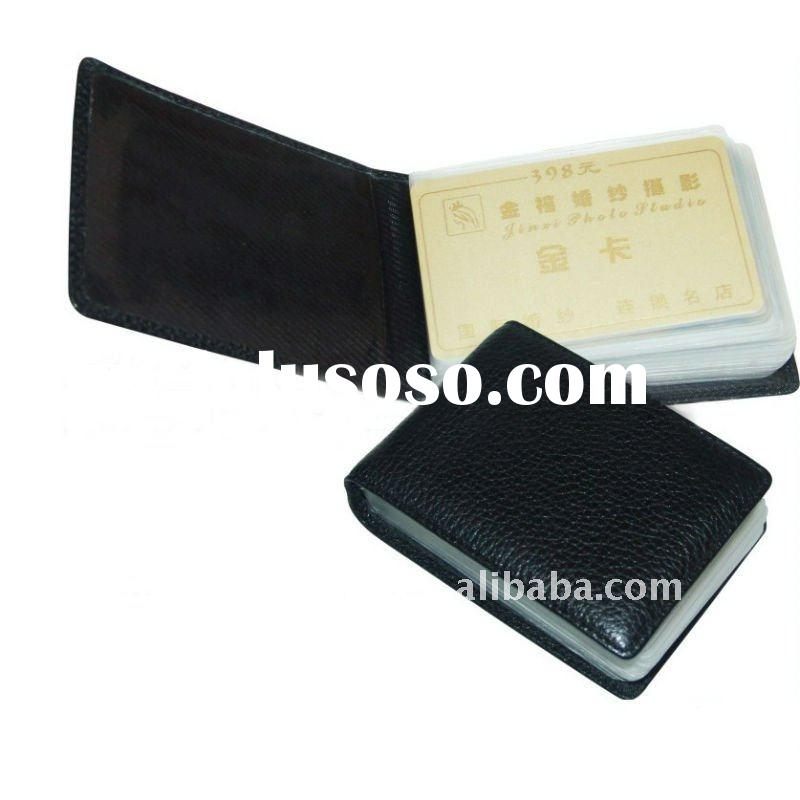 Multiple Leather Business card holder