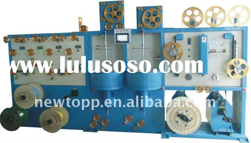 Numerical control type single layer/double layer wire coating machine