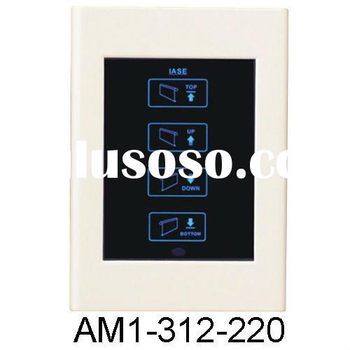 Office Roller Shutter Touch Screen Remote Control Switch