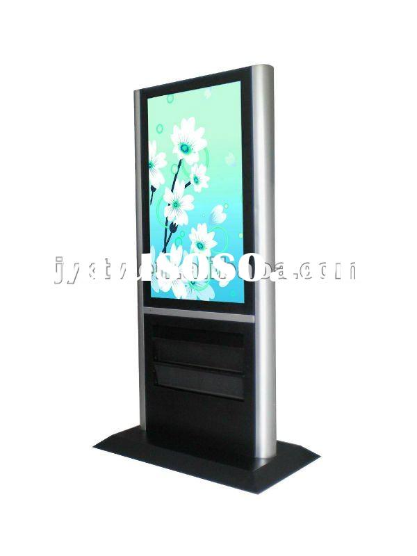Outdoor floor standing advertising player,digital signage,AD display, AD player, outdoor display 55&