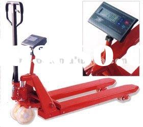 PR-SC 4.5Ton Hydraulic Pump Manual Hand Pallet Truck with Weighing scale (CE)
