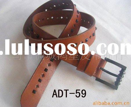 PU IMITATIVE REAL LEATHER BELTS FOR FASHION LADIES AND WOMEN