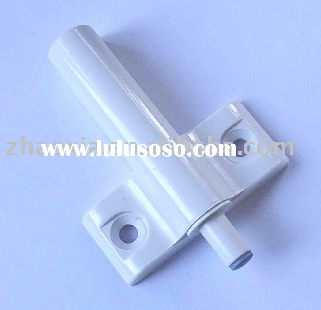 Plastic door buffer for cabinet doors, closet doors, drawers, and so on