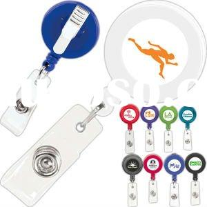 Promotional Promo - Retractable Badge Holder With Alligator Clip