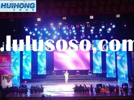 Rental/advertising/concert stage curtain LED flex display screen