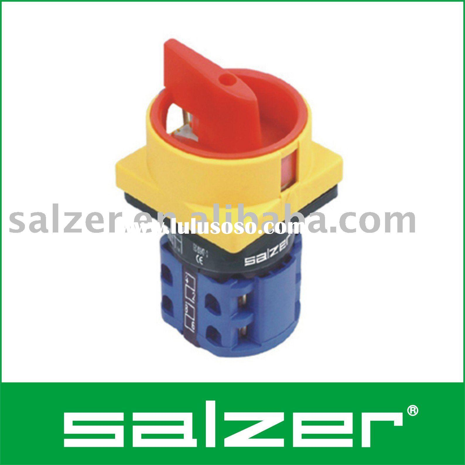 Salzer Selector Switch Connection Diagram  Salzer Selector