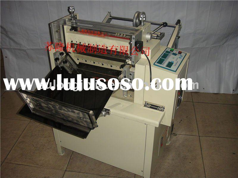 Slicing machine/Slitter/section cutter/Film slitter/Belt slitter For strap/tape/copper/foil/mylar/fo