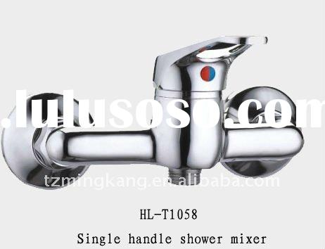 Stainless Steel Pipe Spout Bath&Shower Faucet Chrome&Gold Tap(Single Handle)