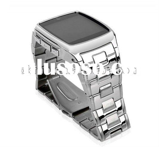 Stainless Steel Watch Phone TW810 with 1.6 Inch high definition touch screen