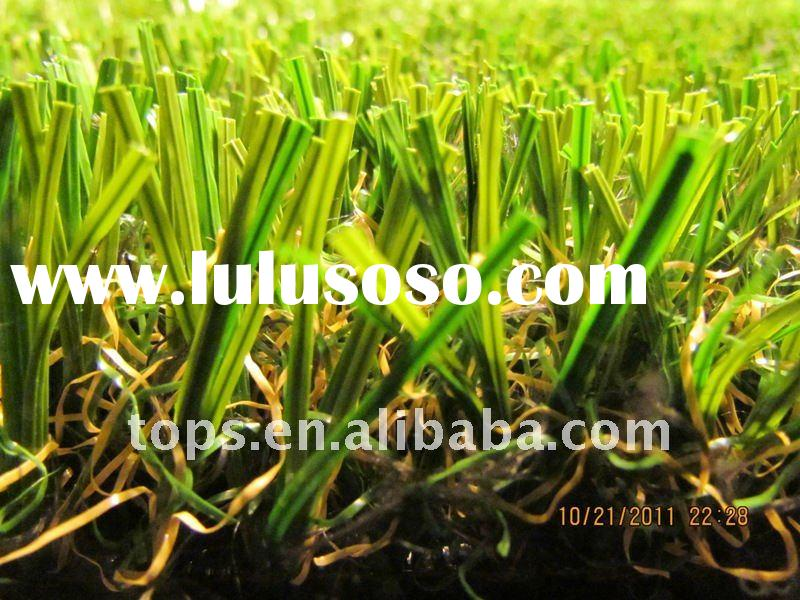 Stem fiber Artificial Grass for landscaping,garden or football