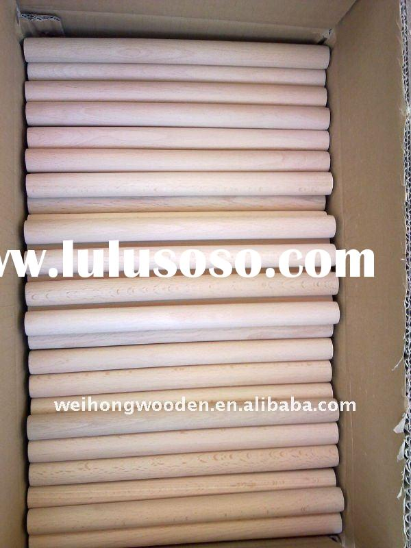 Supply high-quality art brush wood dowel rod ;Direct manufacturers