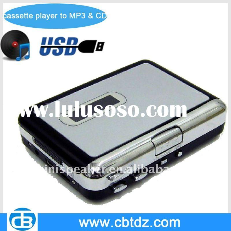 USB Cassette Player to Mp3 & CD,walkman cassette player
