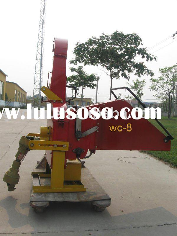 Wood shredder/chipper WC-8A fit with Tractor
